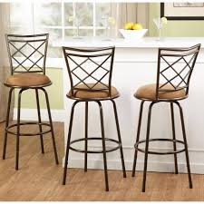 Cream Laminate Flooring Kitchen Awesome Swivel Bar Stools No Back With Round Black