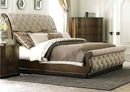 Upholstered Sleigh Bed Tufted Sleigh Bed King U2013 Vansaro Me