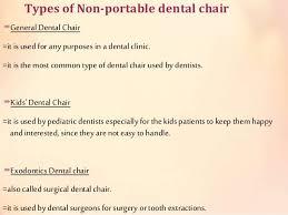 Used Portable Dental Chair Dental Chair