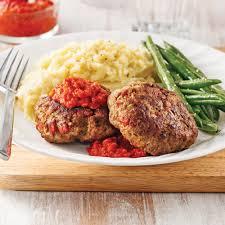 cuisiner steak haché galettes de boeuf haché et chorizo soupers de semaine recettes