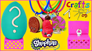how to make super cute shopkins necklaces fun shopkin diy crafts