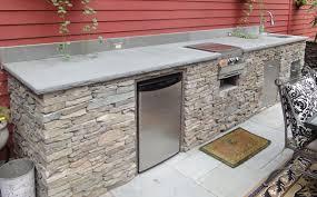 how to build a outdoor kitchen island diy outdoor kitchen kits garden design