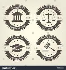 bureau com lawyer bureau emblems labels เวกเตอร สต อก 580065862