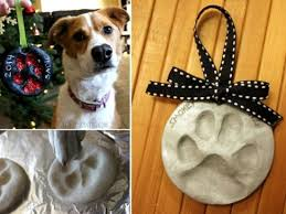 paw print ornament easy diy