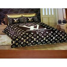 Louis Vuitton Bed Set Vuitton Bedding Sheets Set New In Luxury Box