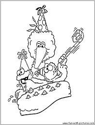 baby cookie monster coloring pages eliolera
