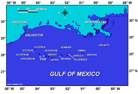 Gulf Of Mexico Map by Natural Setting Of Flower Garden Banks National Marine Sanctuary