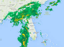 Weather Map Florida by Us Doppler Radar Weathercom Radar Widget Zoom Radar 10 Day