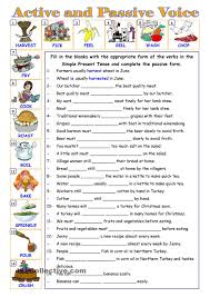 passive voice u2026 education pinterest printables student