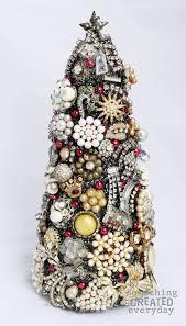 interesting ideas jewelry christmas tree costume trees 17 glittery