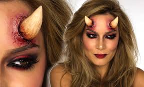 devil halloween makeup tutorial shonagh scott showme