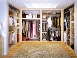interior charming walk in dressing room design with u shape