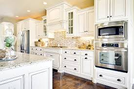 white kitchen with backsplash white kitchen backsplash ideas with white cabinets railing