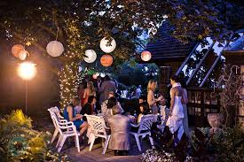 Casual Wedding Ideas Backyard Country Outdoor Wedding Ideas Smile Love Solemnization