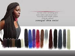 how many bags of pre twisted jaimaican hair is needed 2018 ombre senegalese twist crochet braid hair extensions