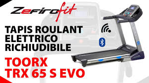 tappeto magnetico o elettrico tapis roulant elettrico richiudibile toorx trx 65 s evo hrc