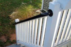 Steel Handrails For Steps 5 Diy Metal Stair Railing Examples Simplified Building