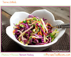 apple u0027n cabbage slaw with a light cider vinaigrette picture the
