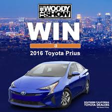 win a toyota prius the woody s worst to car giveaway contest alt 98 7