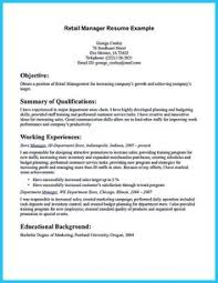 Sample Resume For Store Manager by Retail Cv Template Sales Environment Sales Assistant Cv Shop