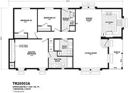 3 bedroom home floor plans floor plan tr 30623a territorial series homes by cavco west