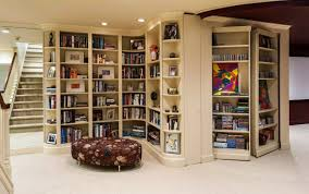 Bookcase Decorating Ideas Living Room Secret Rooms With Hidden Doors Modern Design Ideas