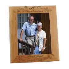 gifts for 50th wedding anniversary wedding anniversary 8x10 photo frame