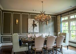 dining room molding ideas atlanta wall moulding ideas dining room traditional with upholstered