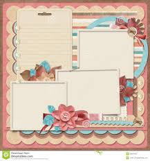 templates for scrapbooking retro family album 365 project scrapbooking templates royalty
