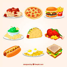 cuisine illustration fast food illustrations vector free