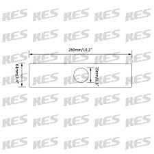 kes 10 inch sink faucet hole cover deck plate square escutcheon