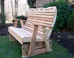 Free Wood Glider Bench Plans by Having Glider Bench In The Garden U2014 The Homy Design
