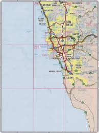 Map Of San Diego by San Diego Highway