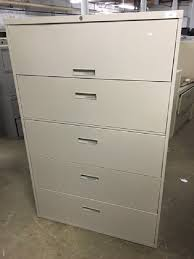 Used 5 Drawer Lateral File Cabinet Steelcase 800 Series 5 Drawer 42 W Lateral File Cabinet Surplus