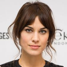hairstyles with bangs and middle part some tips for your mid long hair bangs cheap human hair