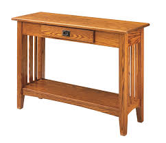 Wooden Sofa Tables by Keystone Collections Mission Hall Table From Dutchcrafters Amish