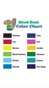 color mood chart color chart emotions gallery free any chart exles