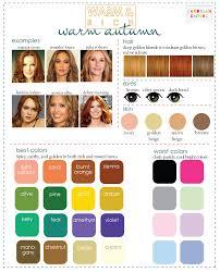color analysis 3 degrees warm u0026 rich