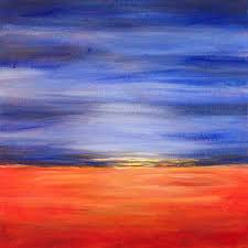 easy acrylic painting ideas abstract landscape easy acrylic