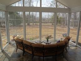 Screened In Porch Decor Rustic Screen Porches Archadeck Of Charlotte