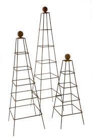 abinger garden obelisk abinger steel obelisks for your garden