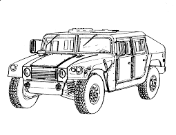 army jeep drawing just for kids kascar real4wd