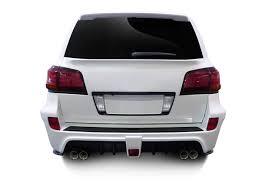 lexus lx 570 car cover 2008 2015 lexus lx570 af 1 wide body rear bumper cover gfk 1