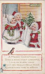 431 best sing of angels flight vintage christmas bird postcards