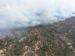 North Bay Mnr Fire by Dry Weather High Winds Fuel Wildfires On Manitoba Ontario Border