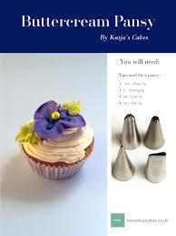 Cake Decorating Magazine Issues Buttercream Pansy Tutorial By Katja U0027s Cakes Australian Cake