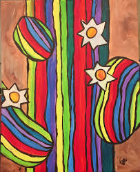 Bestpaint Cactus The Painters Lounge Best Paint And Wine Paint And Sip