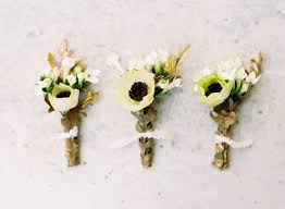 Boutineer Flowers How To Make Unique Wedding Boutonnieres Creative Ideas Instyle Com