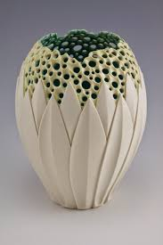 Polymer Clay Vases By Simon Van Der Ven Via Musing About Mud Products Pinterest