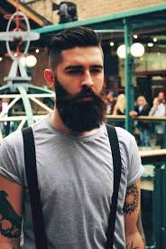 beards style hair ideas for men guys with tattoos 2